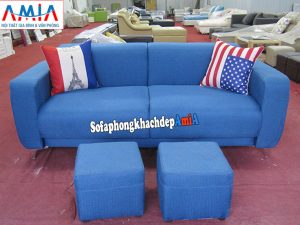 Hình ảnh Sofa văng cho nhà chung cư thiết kế 2 chỗ hiện đại