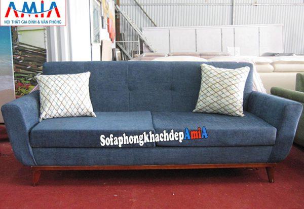 Hình ảnh Sofa văng nỉ đẹp hiện đại thiết kế 2 chỗ nhỏ xinh cho phòng khách nhỏ