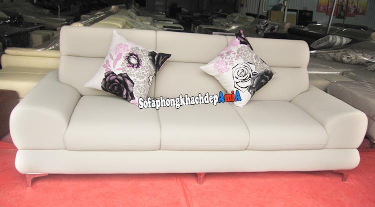 Hình ảnh Địa chỉ mua sofa văng đẹp nhiều mẫu mã, kiểu dáng với mức giá bình dân tại Tổng kho Nội thất AmiA