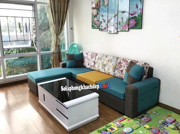 Hình ảnh Ghế sofa cho nhà chung cư đẹp nhiều màu sắc rực rỡ thật nổi bật