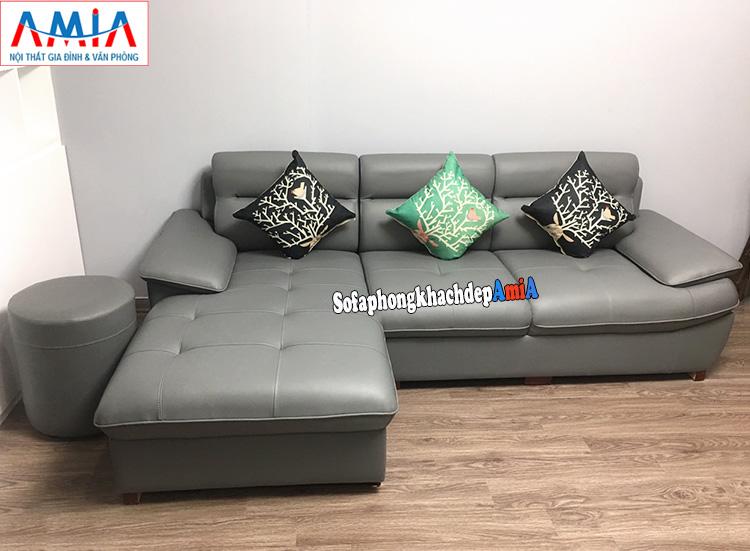 Hình ảnh Mẫu sofa phòng khách đẹp hình chữ L hiện đại AmiA 141