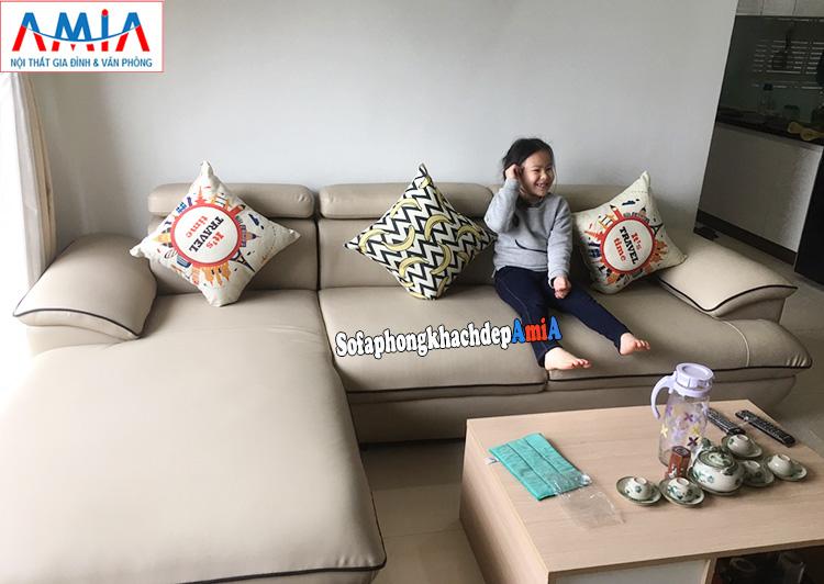 Hình ảnh Sofa cho phòng khách đẹp hiện đại AmiA 093
