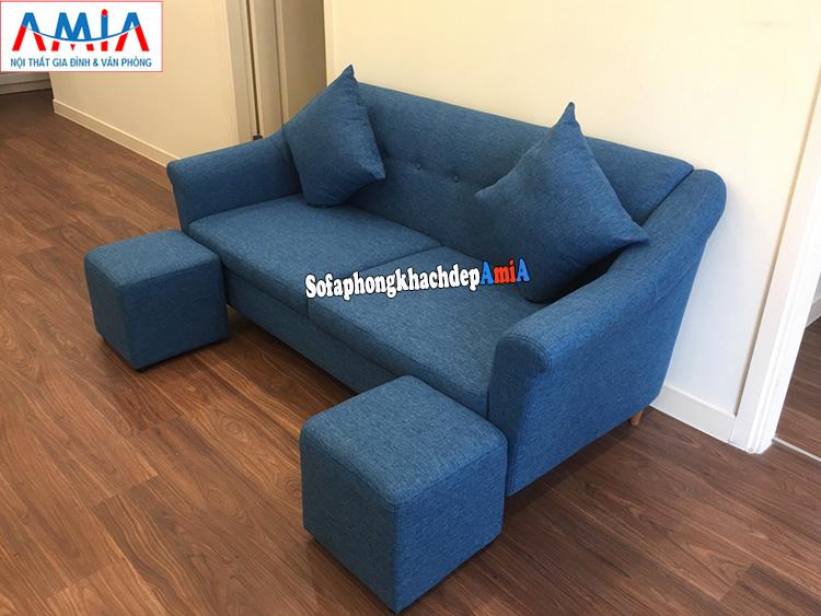 Hình ảnh Ghế sofa phòng khách nhỏ gọn chung cư kích thước nhỏ tiết kiệm diện tích