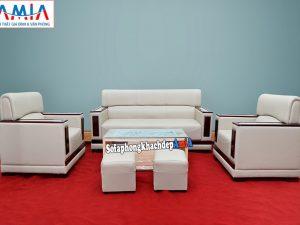 Hình ảnh Bộ bàn ghế sofa văn phòng cao cấp cho phòng khách công ty