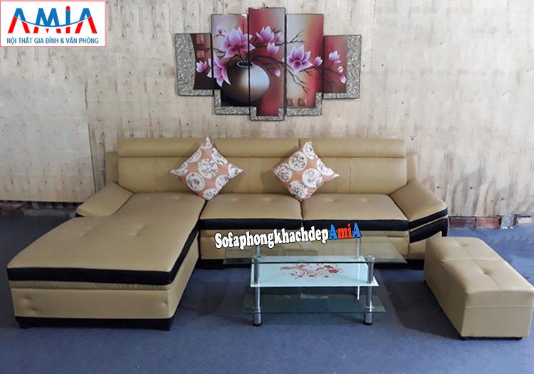 Hình ảnh Ghế sofa phòng khách đẹp hiện đại tại Tổng kho sofa giá rẻ AmiA