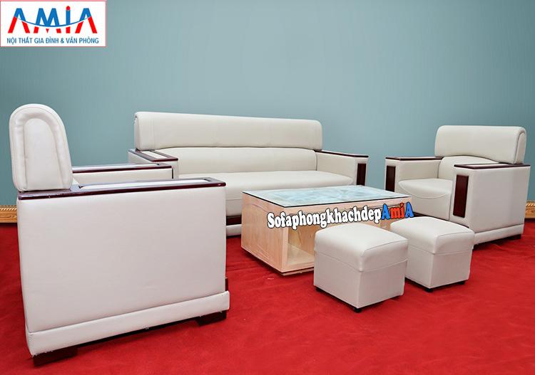 Hình ảnh Ghế sofa văn phòng phòng khach công ty giá rẻ tại Hà Nội