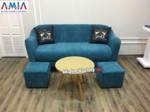 Hình ảnh Mẫu ghế sofa văng kê phòng khách nhỏ đẹp hiện đại