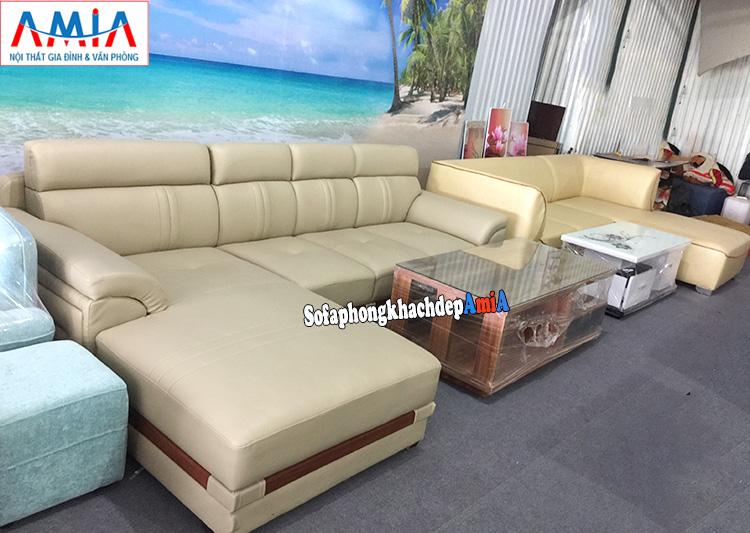 Hình ảnh ghế sofa phòng khách đẹp tại Tổng kho sofa giá rẻ AmiA