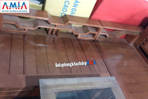 Hình ảnh chi tiết mẫu ghế sofa gỗ Sồi đẹp giá rẻ cho phòng khách hiện đại