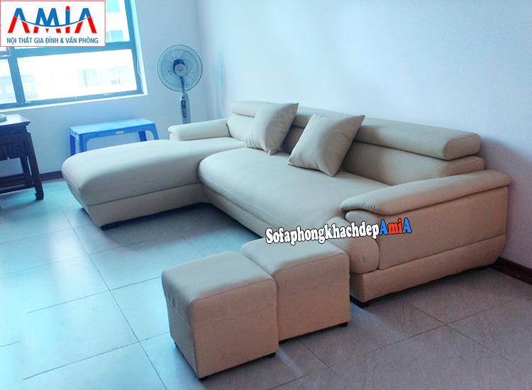 Hình ảnh Kích thước sofa phòng khách chung cư phổ biến nhất là bao nhiêu