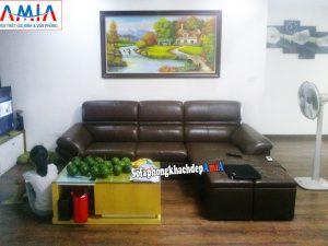 Hình ảnh Kinh nghiệm mua ghế sofa da đẹp hiện đại cho phòng khách gia đình