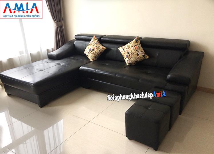 Hình ảnh Mẫu sofa phòng khách đẹp hiện đại giá rẻ cho nhà chung cư đẹp