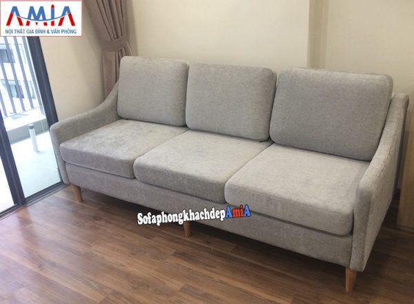 Hình ảnh Sofa cho nhà chung cư nhỏ thiết kế dạng ghế văng 3 chỗ