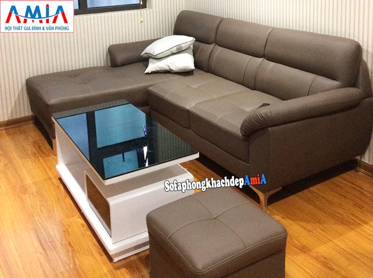 Hình ảnh Sofa chữ L cho phòng khách nhỏ kích thước nhỏ xinh xắn
