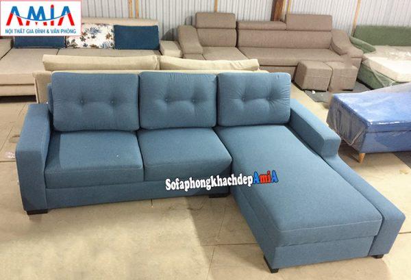 Hình ảnh Ghế sofa nỉ đẹp cho phòng khách hiện đại nhà phố nhà chung cư