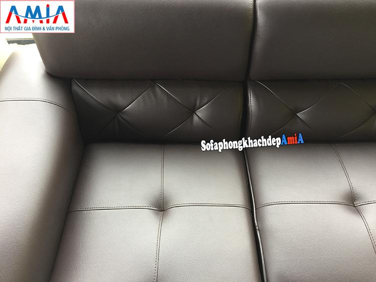 Hình ảnh Chi tiết mẫu ghế sofa da phòng khách lớn đẹp hiện đại