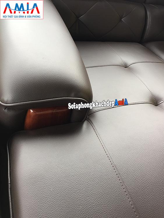 Hình ảnh Mẫu ghế sofa da cho phòng khách lớn chất liệu da đẹp