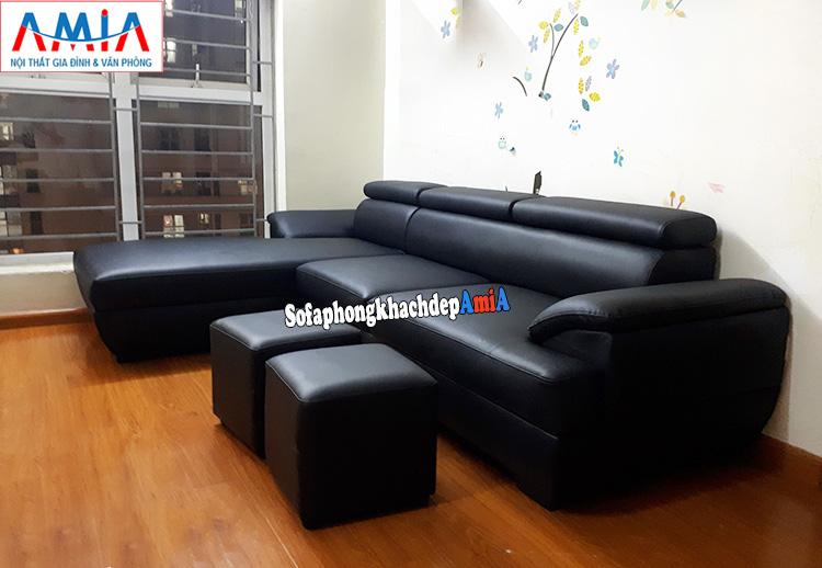 Hình ảnh sofa phòng khách đẹp Hà Nội cho nhà chung cư đẹp hiện đại