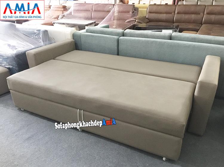Hình ảnh Ghế sofa giường đa năng giá rẻ tại Hà Nội kê phòng khách đẹp gia đình