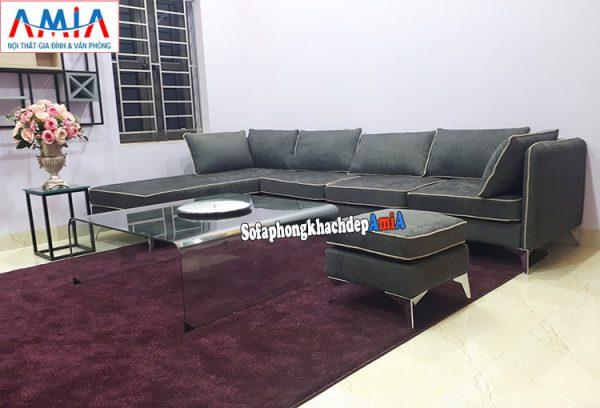 Hình ảnh sofa nỉ đẹp cho phòng khách lớn giá rẻ tại Hà Nội