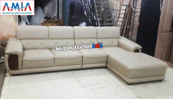 Hình ảnh Sofa phòng khách lớn đẹp giá rẻ Hà Nội làm theo yêu cầu tại xưởng sản xuất sofa AmiA