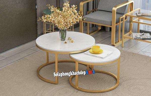 Hình ảnh bàn sofa hiện đại đẹp phòng khách thiết kế độc lạ