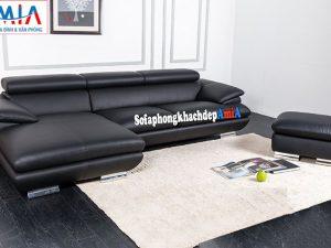 Hình ảnh Ghế sofa da cho phòng khách lớn cao cấp, sang trọng