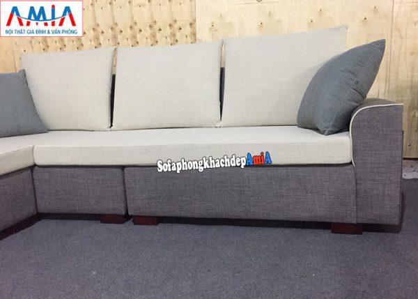 Hình ảnh chi tiết mẫu ghế sofa nỉ đẹp hiện đại giá rẻ kê phòng khách