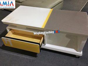 Hình ảnh bàn trà sofa hiện đại kê phòng khách thiết kế đơn giản mà đẹp