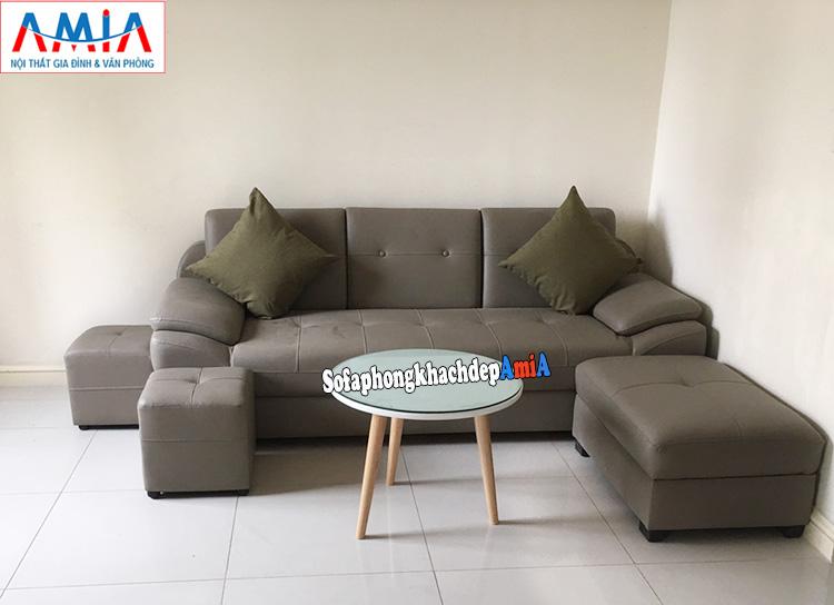 Hình ảnh Chọn mua ghế sofa da ở đâu đẹp hiện đại giá rẻ Hà Nội