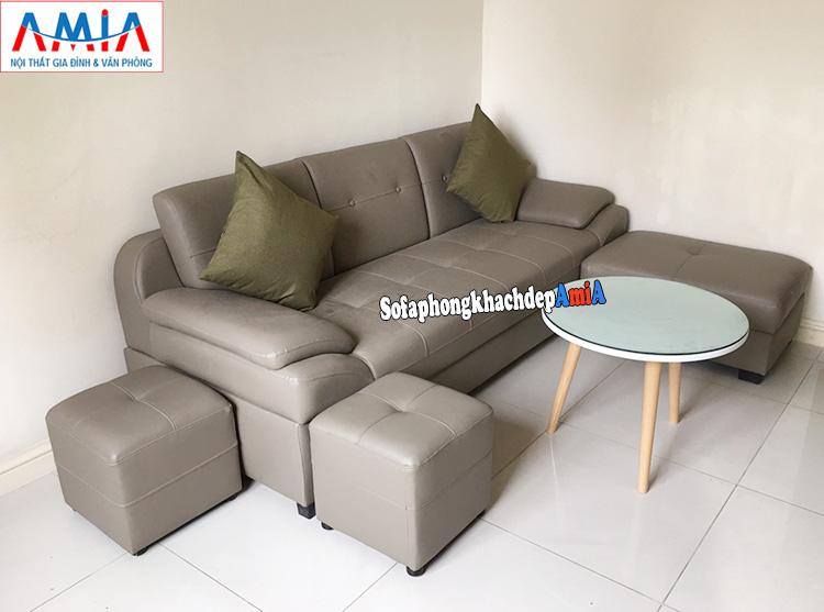 Hình ảnh Mua sofa da ở đâu Hà Nội đẹp giá rẻ có mẫu ghế sofa văng đẹp