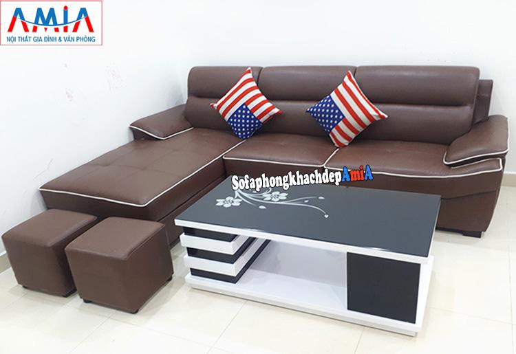 Hình ảnh sofa phòng khách người mệnh Thổ hút vận may và tài lộc