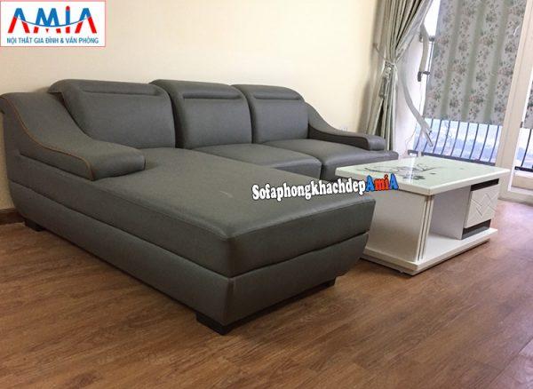 Hình ảnh Ghế sofa da đẹp cho phòng khách giá rẻ tại Hà Nội