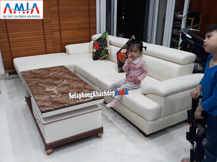 Hình ảnh Mẫu sofa theo phong thủy mệnh Thủy mang vận may và tài lộc