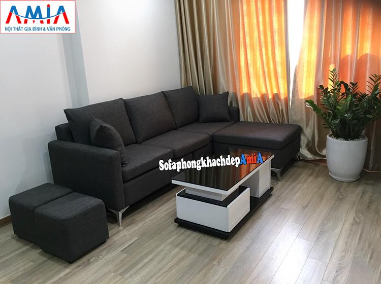 Hình ảnh Bàn ghế sofa phòng khách nhỏ cho nhà chung cư đẹp
