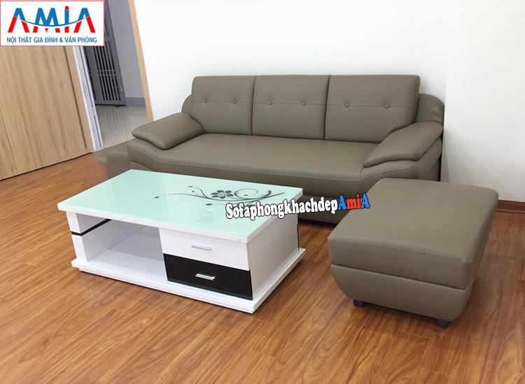 Hình ảnh Bộ sofa nhỏ gọn cho nhà chung cư hiện đại