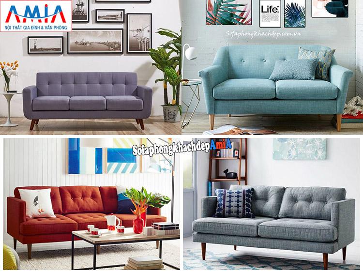 Hình ảnh Các mẫu sofa nhỏ đẹp giá rẻ Hà Nội cho phòng khách đẹp gia đình