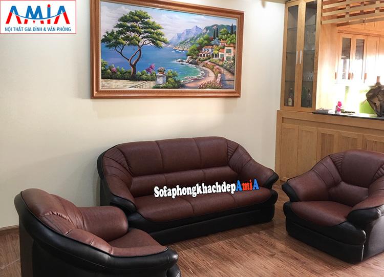 Hình ảnh Ghế sofa đơn nhỏ giá rẻ Hà Nội kết hợp cùng mẫu ghế sofa văng đẹp
