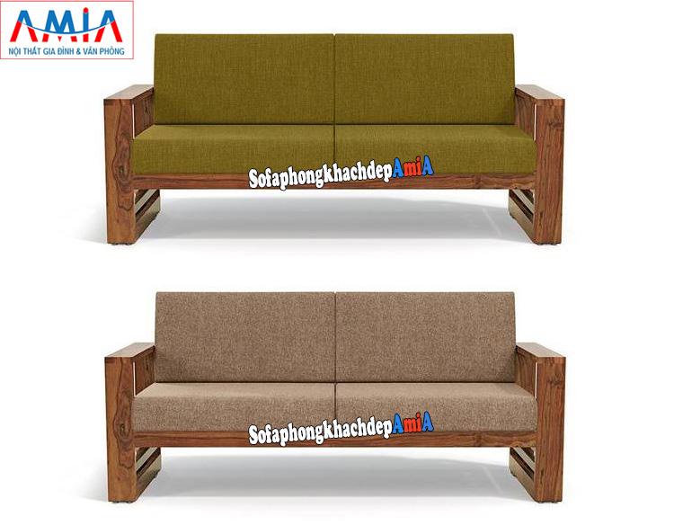 Hình ảnh Ghế sofa văng gỗ nhỏ giá rẻ kê phòng khách