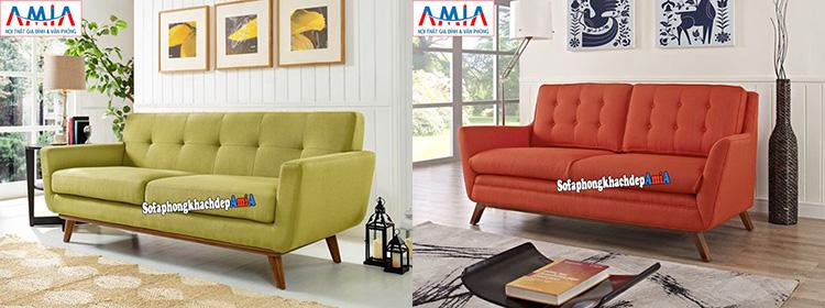Hình ảnh ghế sofa văng nhỏ 2 chỗ cho nhà nhỏ giá rẻ tại Hà Nội