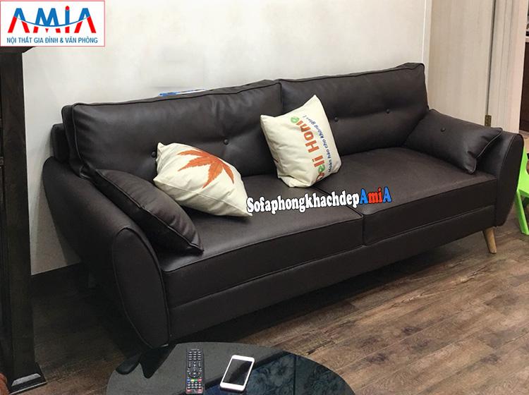 Hình ảnh Mẫu sofa nhỏ đẹp thiết kế dạng ghé sofa văng nhỏ xinh