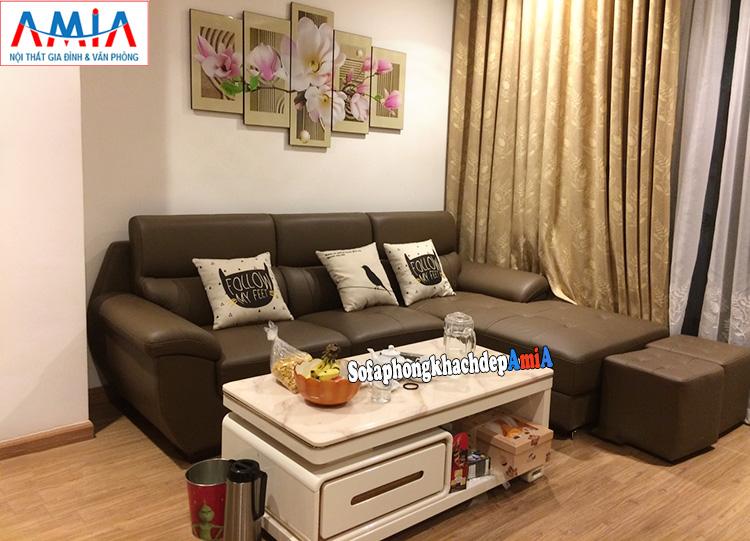 Hình ảnh Mẫu sofa đẹp cho phòng khách nhỏ hẹp hiện đại