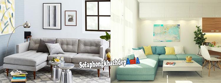 Hình ảnh Sofa phòng khách nhỏ xinh xắn cho không gian nhỏ