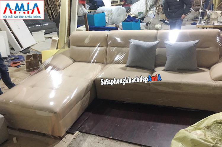 Hình ảnh thực tế xưởng đóng sofa Hà Nội theo yêu cầu riêng khu vực đường Nguyễn Xiển - Vành đai 3