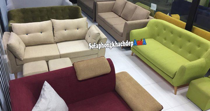 Hình ảnh Các mẫu sofa nhỏ xinh sofa góc nhỏ đẹp và giá bán kèm hình ảnh chi tiết tại Nội thất AmiA