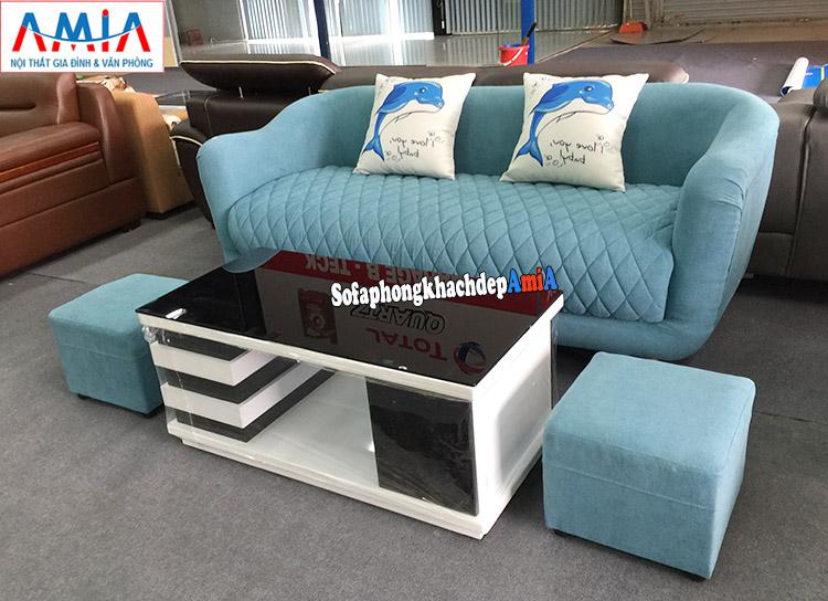 Hình ảnh Ghế sofa nhỏ giá rẻ tại Hà Nội với hình ảnh thực tế chụp tại Tổng kho AmiA