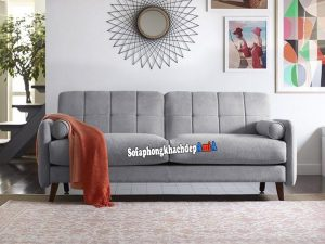 Hình ảnh Sofa nhỏ gọn kê phòng khách nhỏ tiết kiệm diện tích với thiết kế 2 chỗ xinh xắn