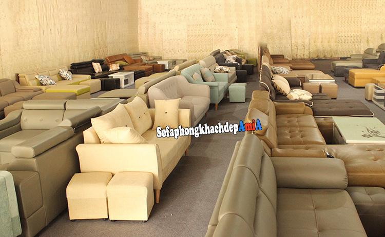 Hình ảnh Địa chỉ bán sofa nhỏ đẹp giá rẻ tại Hà Nội nhiều mẫu mã kiểu dáng đẹp