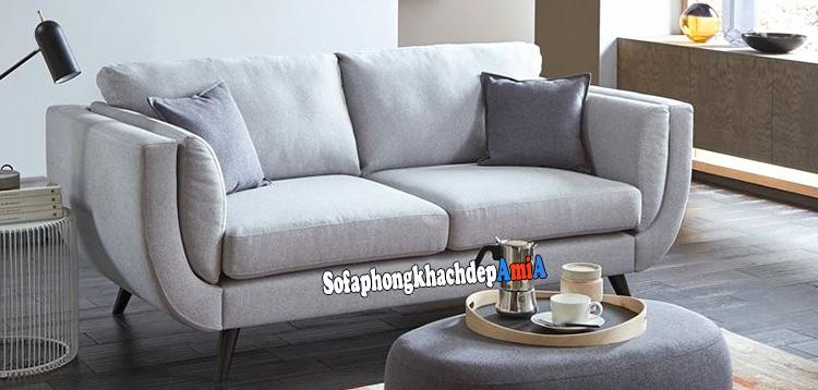 Hình ảnh Các mẫu sofa cho phòng khách nhỏ hẹp thiết kế dạng ghế sofa văng 2 chỗ
