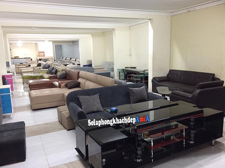 Hình ảnh Các mẫu sofa cho phòng khách nhỏ tphcm chụp tại tổng kho sofa